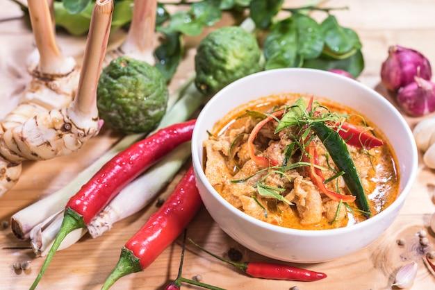 Delizioso cibo tailandese