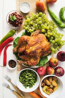Вкусная еда на день благодарения