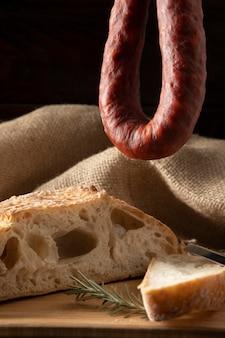 おいしい伝統的なチョリソの組成物
