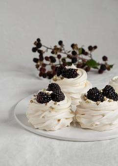 Delicious traditional dessert assortment