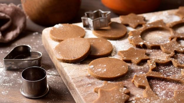 Вкусный зимний десерт из печенья