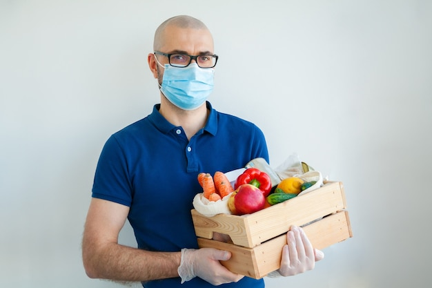 Delivery during quarantine