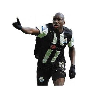 Demba ba   newcastle premier league
