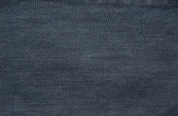 Denim fabric texture close-up