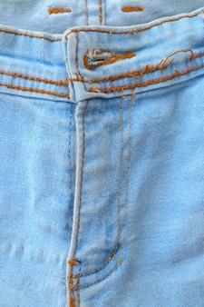 Denim texture close up Premium Photo