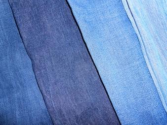 Denim texture several diagonal colors