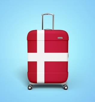 Denmark suitcase - vacation