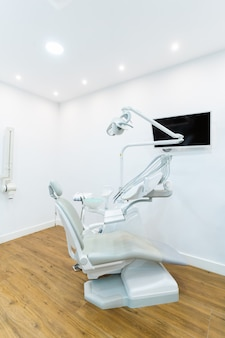 Dental chair and other accessories used by dentists