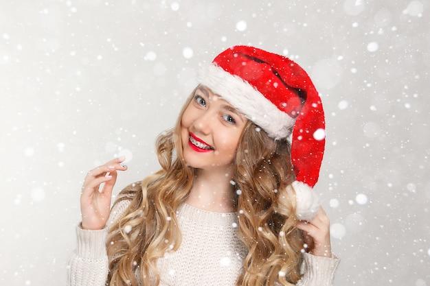 歯科、クリスマス、クリスマス、冬、幸福の概念