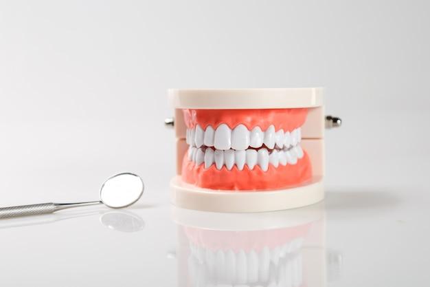 Dental concept healthy equipment tools dental care