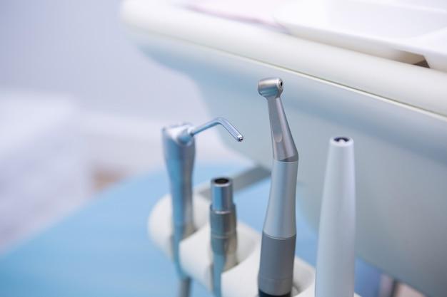 Dental equipments at medical clinic