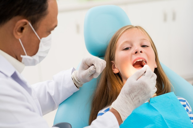 Dentist examination