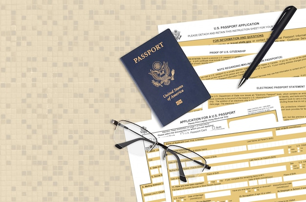 国務省、米国パスポートのds11申請書を作成