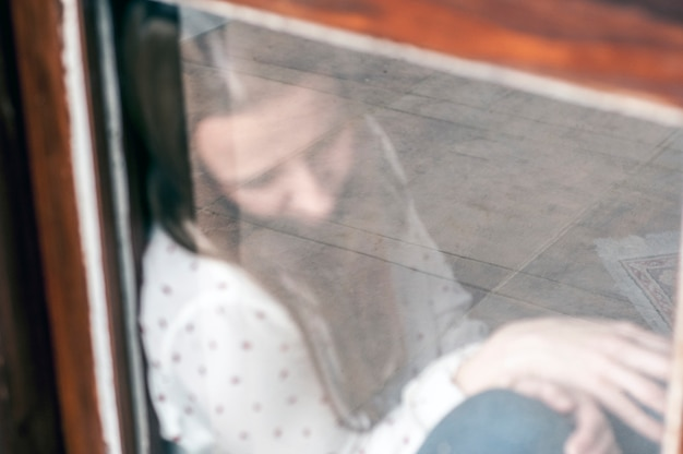 Depression through the glass