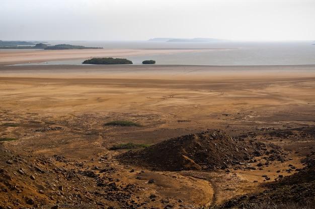 Пустынный пляж гуахира колумбия