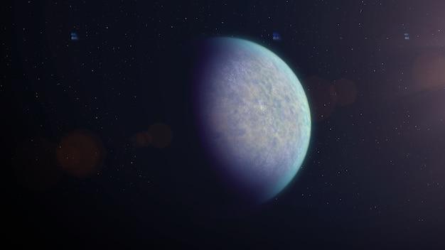 砂漠型太陽系外惑星