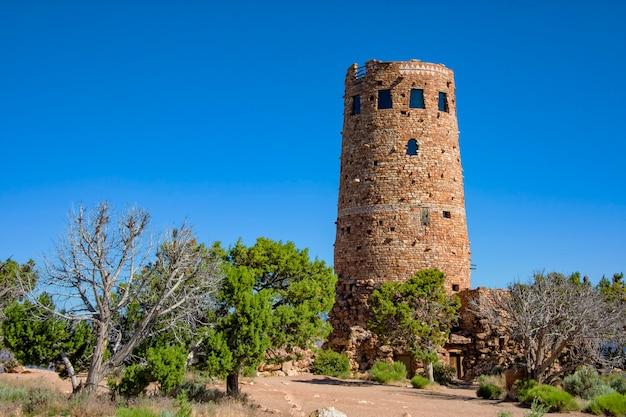 Пустынная сторожевая башня