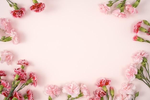 어머니의 날 카네이션 꽃다발의 디자인 컨셉