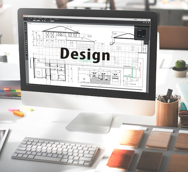 Дизайн построить рисунок внешний архитектор концепция
