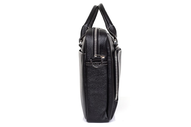Дизайнерская сумка из натуральной кожи для мужчин