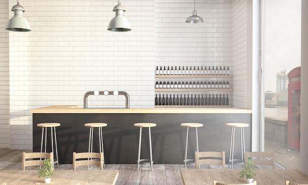 Дизайн современной кофейни