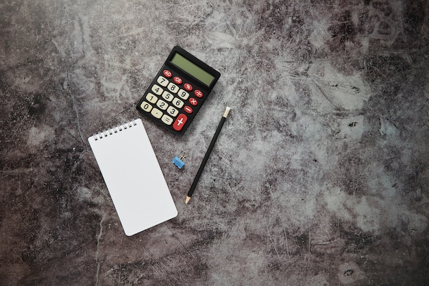 Desk table online business finance background