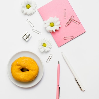 Desk with objects