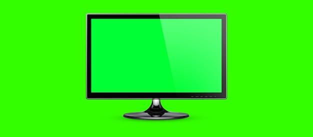Шаблон пустой экран рабочего стола или пк