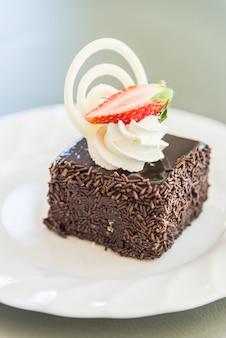 Dessert chocolate cake