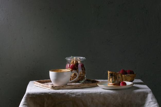 Dessert in jar