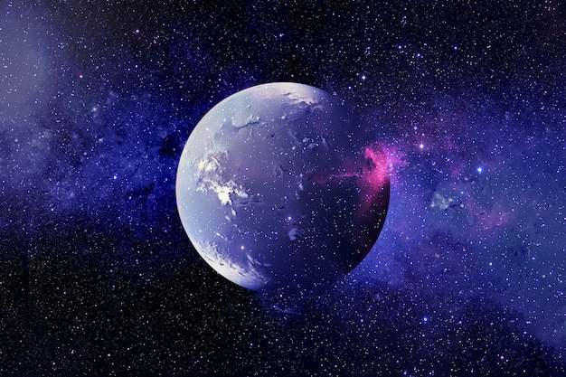 The destruction of exoplanets elements of this image were furnished by nasa