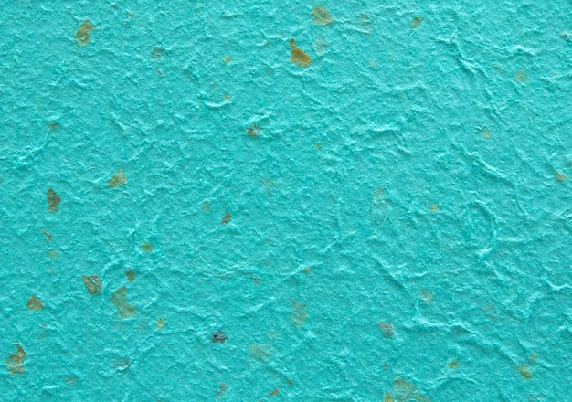 Detail of blue handmade paper or mulberry paper texture for background