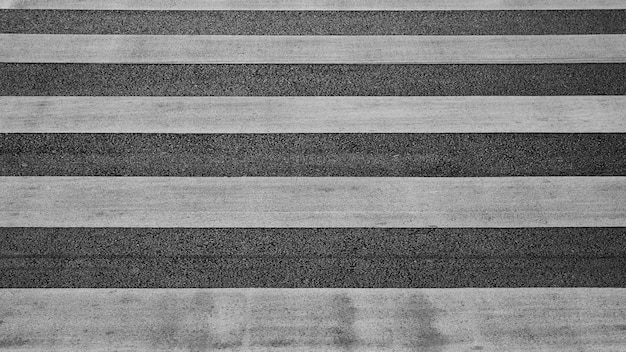 Detail of a crosswalk at the asphalt road
