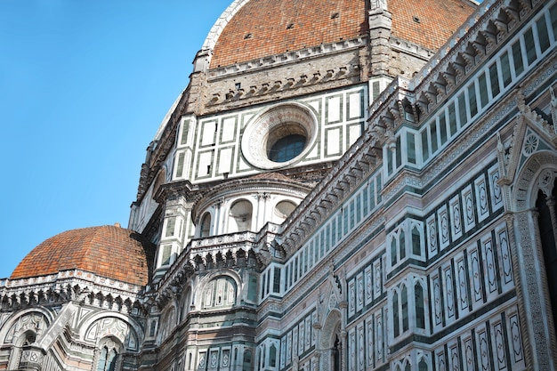Detail of dome of florence
