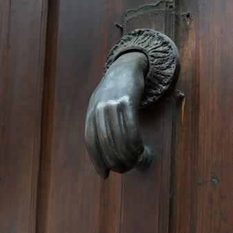 Detail of door knocker, san miguel de allende, guanajuato, mexico