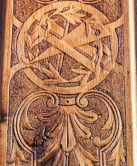 Detail of the  freemasonry door in turin (torino) - italy