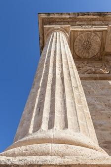 이탈리아 로마 기둥의 전망에 대한 세부 사항