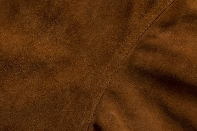 Detail of jacket suede tailoring background
