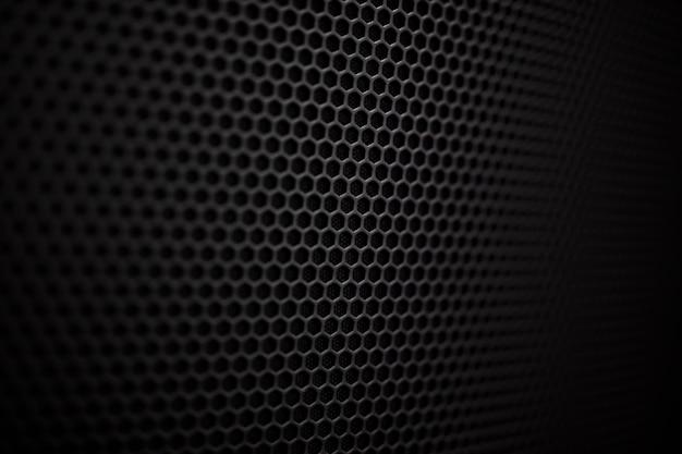 Detail of the loudspeacker