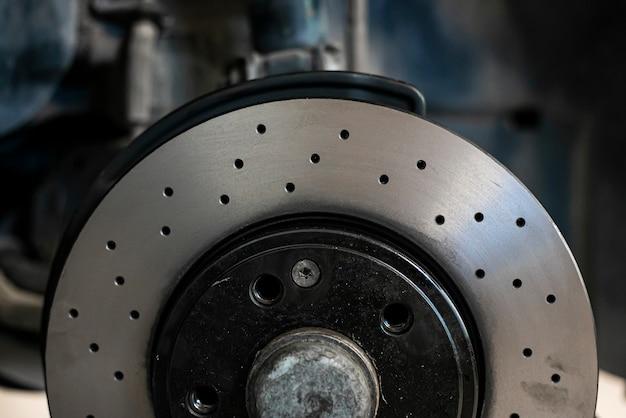 Деталь перфорированного дискового тормоза спортивного автомобиля, запчасти для спортивного тюнинга
