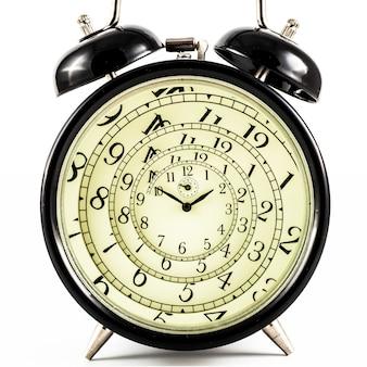 Деталь подержанных механических часов с гипнотическим квадрантом, очень гибкая концепция