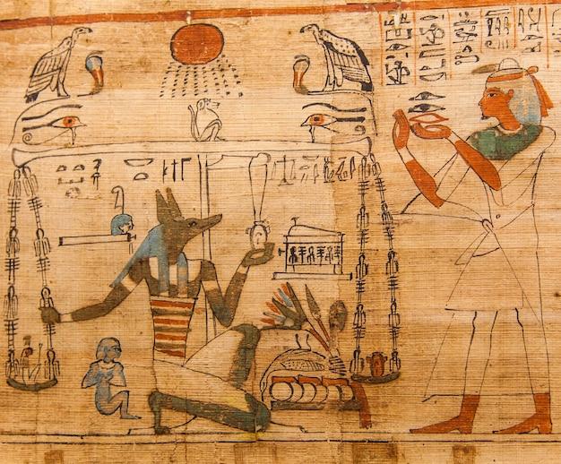 古代の死者の書(紀元前1070年)、テーベ-エジプトの詳細