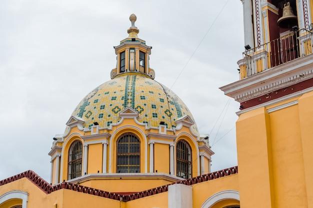 メキシコ、チョルラの救済の聖母教会の詳細。