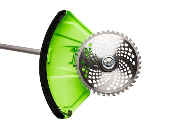 電気芝刈り機のガーデニンググラスカッターナイフツール部分の詳細