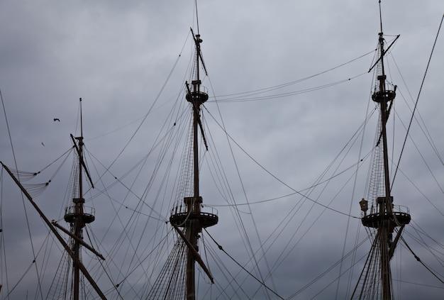 Фрагмент галеона нептун, использованный р. полански в фильме «пираты».