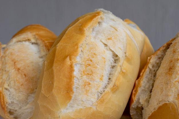 ブラジルではフランスのパンとして知られている塩パンの詳細。