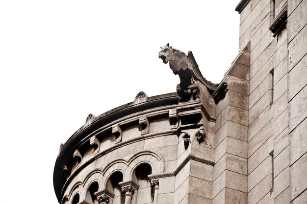 フランス、パリのイエスの聖心に捧げられた、サクレクール寺院として一般に知られているパリの聖心大聖堂の詳細