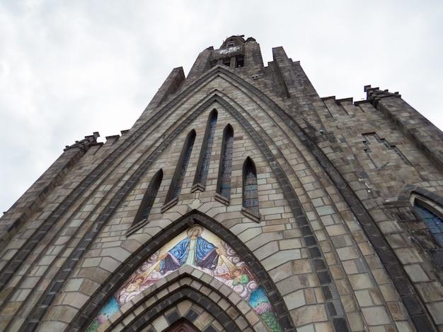 Деталь материнской церкви канелы, риу-гранди-ду-сул