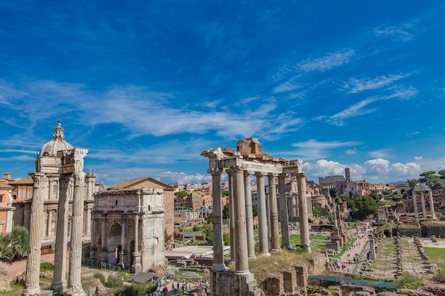 イタリア、ローマのフォロロマーノの詳細