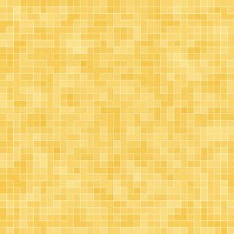 옐로우 골드 모자이크 텍스처의 세부 사항 추상 세라믹 모자이크 장식 건물. 추상 완벽 한 패턴입니다. 추상적인 색의 세라믹 돌.